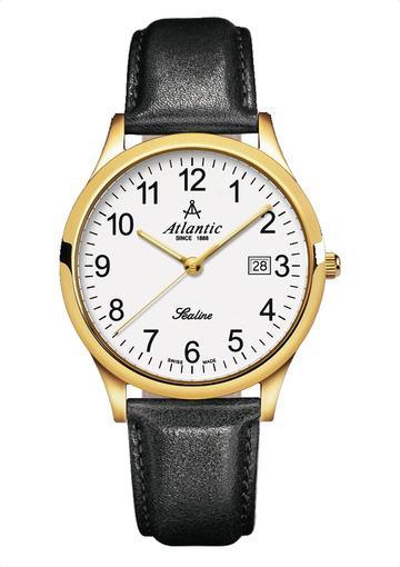 Фото швейцарских часов Мужские швейцарские наручные часы Atlantic Sealine 62341.45.13