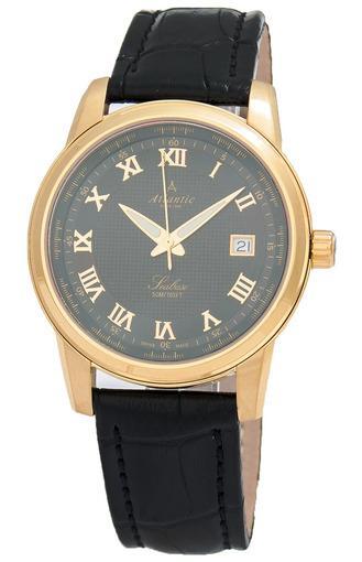 Фото швейцарских часов Мужские швейцарские наручные часы Atlantic Seabase 64350.45.68