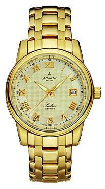 Фото швейцарских часов Мужские швейцарские наручные часы Atlantic Seabase 64355.45.38