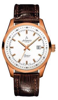 Фото швейцарских часов Мужские швейцарские наручные часы Atlantic Seamove 65351.44.21