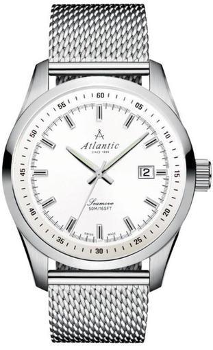 Фото швейцарских часов Мужские швейцарские наручные часы Atlantic Seamove 65356.41.21