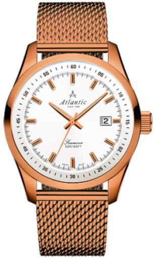 Фото швейцарских часов Мужские швейцарские наручные часы Atlantic Seamove 65356.44.21