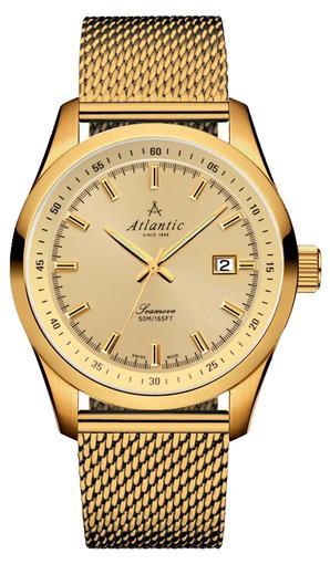 Фото швейцарских часов Мужские швейцарские наручные часы Atlantic Seamove 65356.45.31