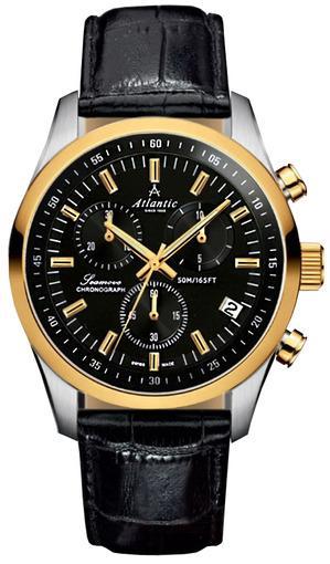 Фото швейцарских часов Мужские швейцарские наручные часы Atlantic Seamove 65451.43.61