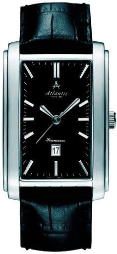 Фото швейцарских часов Мужские швейцарские наручные часы Atlantic Seamoon XXL 67340.41.61