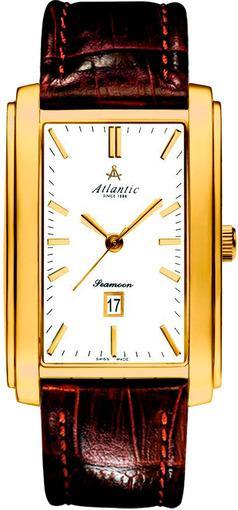 Фото швейцарских часов Мужские швейцарские наручные часы Atlantic Seamoon 67340.45.11