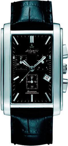 Фото швейцарских часов Мужские швейцарские наручные часы Atlantic Zegarek 67440.41.61