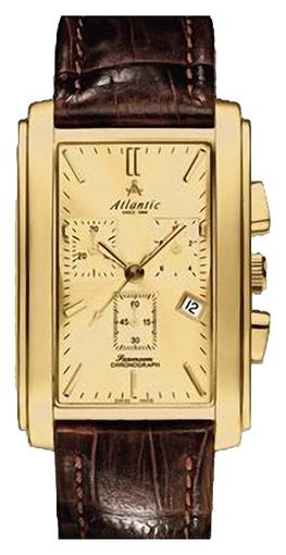 Фото швейцарских часов Мужские швейцарские наручные часы Atlantic Seemoon 67440.45.31
