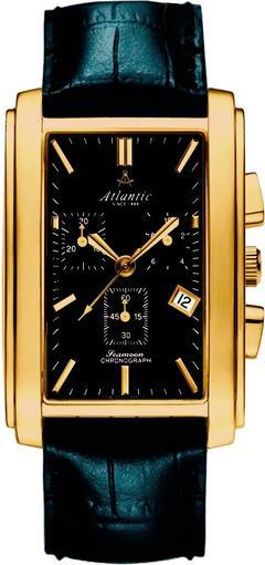 Фото швейцарских часов Мужские швейцарские наручные часы Atlantic Seamoon 67440.45.61
