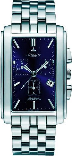 Фото швейцарских часов Мужские швейцарские наручные часы Atlantic Seemoon 67445.41.51