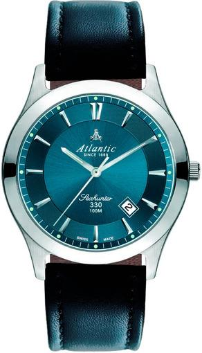 Фото швейцарских часов Мужские швейцарские наручные часы Atlantic Seahunter 71360.41.41