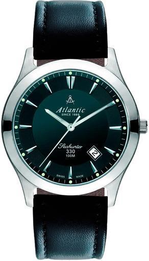 Фото швейцарских часов Мужские швейцарские наручные часы Atlantic Seahunter 71360.41.61