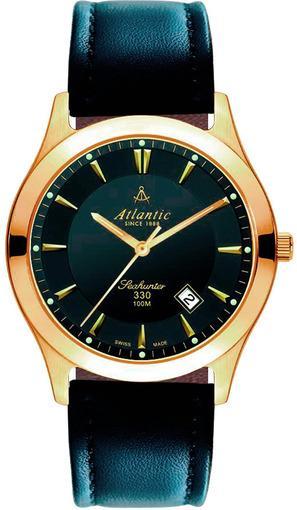 Фото швейцарских часов Мужские швейцарские наручные часы Atlantic Seahunter 71360.45.61