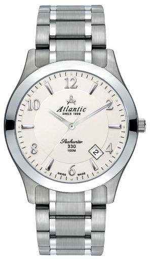 Фото швейцарских часов Мужские швейцарские наручные часы Atlantic Seahunter 71365.11.25