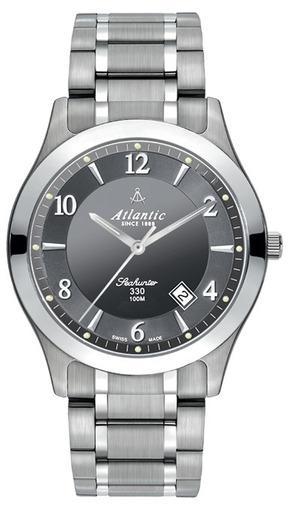 Фото швейцарских часов Мужские швейцарские наручные часы Atlantic Seahunter 100 71365.11.45
