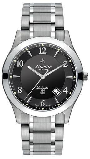 Фото швейцарских часов Мужские швейцарские наручные часы Atlantic Seahunter 71365.11.65