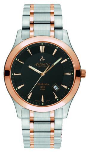 Фото швейцарских часов Мужские швейцарские наручные часы Atlantic Seahunter 71365.43.61R