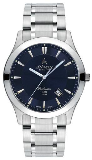 Фото швейцарских часов Мужские швейцарские наручные часы Atlantic Seahunter 71365.41.51