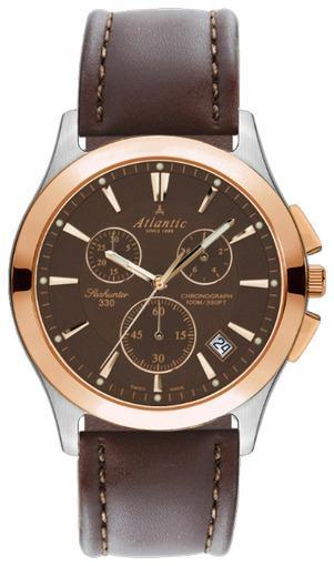 Фото швейцарских часов Мужские швейцарские наручные часы Atlantic Seahunter 71460.43.61R