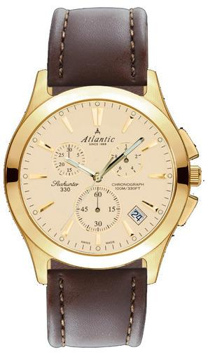 Фото швейцарских часов Мужские швейцарские наручные часы Atlantic Seahunter 71460.45.31