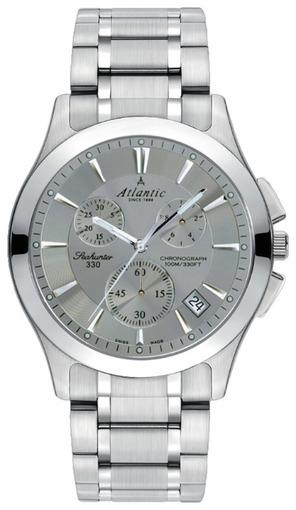 Фото швейцарских часов Мужские швейцарские наручные часы Atlantic Seahunter 71465.41.41