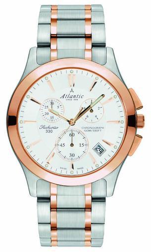 Фото швейцарских часов Мужские швейцарские наручные часы Atlantic Seahunter 71465.43.21R