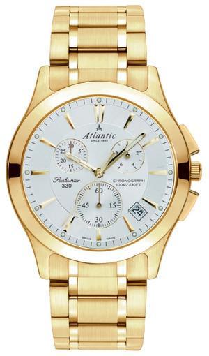 Фото швейцарских часов Мужские швейцарские наручные часы Atlantic Seahunter 71465.45.21