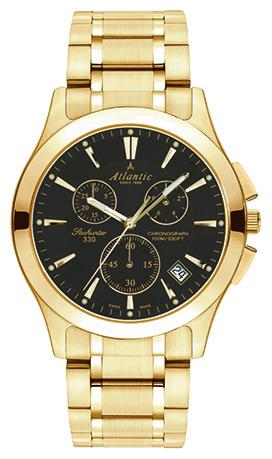 Фото швейцарских часов Мужские швейцарские наручные часы Atlantic Seahunter 71465.45.61