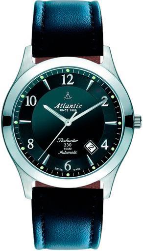 Фото швейцарских часов Мужские швейцарские наручные часы Atlantic Seahunter 71760.41.65