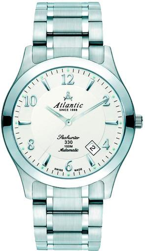 Фото швейцарских часов Мужские швейцарские наручные часы Atlantic Seahunter 71765.41.25