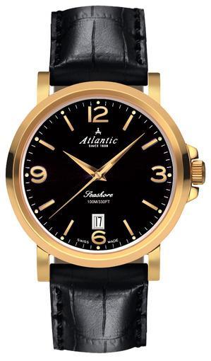 Фото швейцарских часов Мужские швейцарские наручные часы Atlantic Seashore 72360.45.65