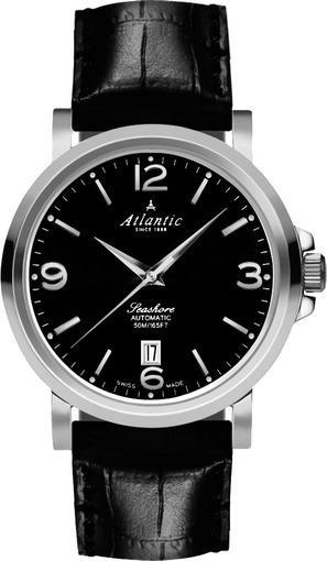 Фото швейцарских часов Мужские швейцарские наручные часы Atlantic Seashore 72760.41.65