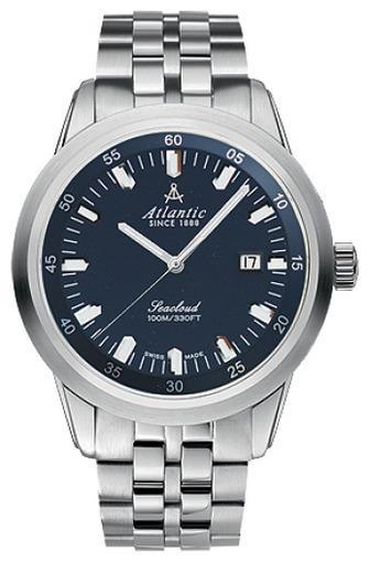 Фото швейцарских часов Мужские швейцарские наручные часы Atlantic Seacloud 73365.41.51