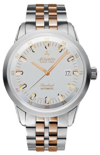 Фото швейцарских часов Мужские швейцарские наручные часы Atlantic Seacloud 73365.43.21R