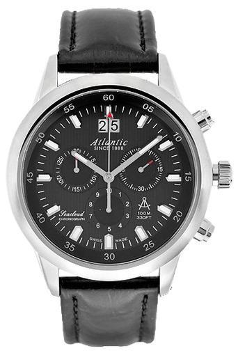 Фото швейцарских часов Мужские швейцарские наручные часы Atlantic Seacloud 73460.41.61