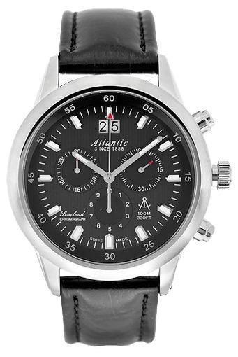 Фото швейцарских часов Мужские швейцарские наручные часы Atlantic Seacloud 73460.41.61R