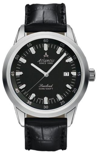 Фото швейцарских часов Мужские швейцарские наручные часы Atlantic Seacloud 73760.41.61