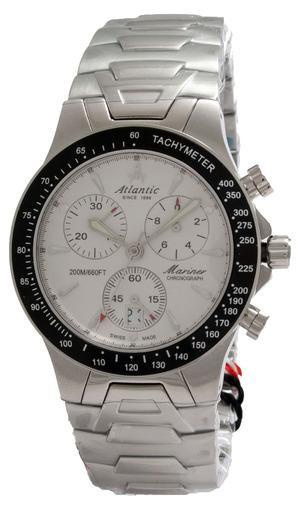 Фото швейцарских часов Мужские швейцарские наручные часы Atlantic Mariner 80476.41.21