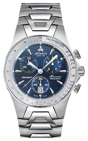 Фото швейцарских часов Мужские швейцарские наручные часы Atlantic Seabase 80477.41.51
