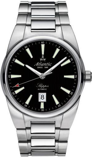 Фото швейцарских часов Мужские швейцарские наручные часы Atlantic Skipper 83365.41.61