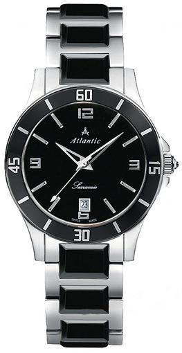 Фото швейцарских часов Женские швейцарские наручные часы Atlantic Siaramic 92345.53.65