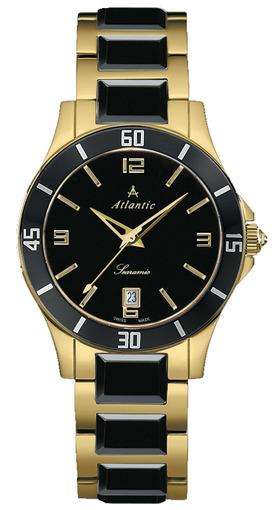 Фото швейцарских часов Женские швейцарские наручные часы Atlantic Siaramic 92345.57.65