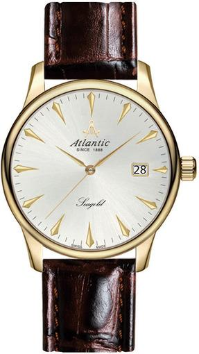 Фото швейцарских часов Мужские швейцарские наручные часы Atlantic Seagold 95743.65.21