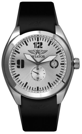 Фото швейцарских часов Мужские швейцарские наручные часы Aviator MIG-25 FOXBAT M.1.05.0.013.6