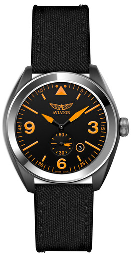 Фото швейцарских часов Мужские швейцарские наручные часы Aviator MIG-25 FOXBAT M.1.10.0.062.7