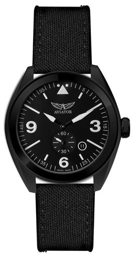 Фото швейцарских часов Мужские швейцарские наручные часы Aviator MIG-25 FOXBAT M.1.10.5.028.7