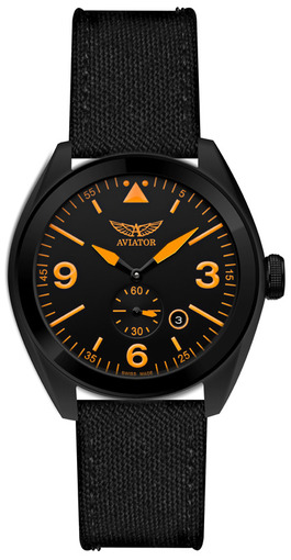 Фото швейцарских часов Мужские швейцарские наручные часы Aviator MIG-25 FOXBAT M.1.10.5.062.7