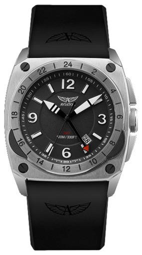 Фото швейцарских часов Мужские швейцарские наручные часы Aviator MIG-29 Cockpit GMT M.1.12.0.050.6