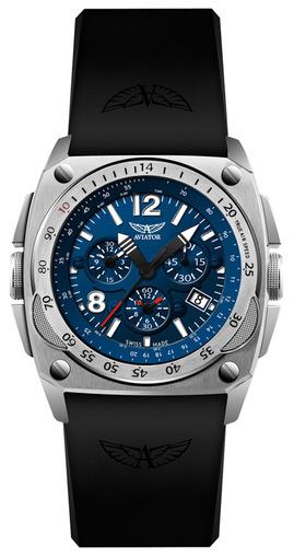 Фото швейцарских часов Мужские швейцарские наручные часы Aviator MIG-29 COCKPIT CHRONO M.2.04.0.071.6