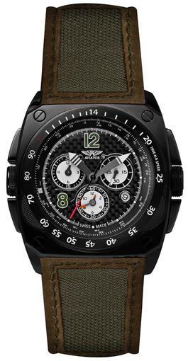 Фото швейцарских часов Мужские швейцарские наручные часы Aviator MIG-29 Cockpit M.2.04.5.011.7